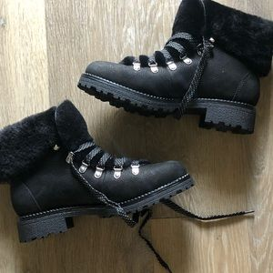 J. Crew Leather Boots 8